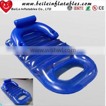 Cheap PVC inflatable floating sofa chair bed
