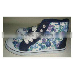 Teener canvas shoes