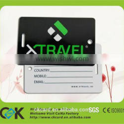 Favorable Price! Printing eco-friendly plastic pvc tag maker with gold supplier