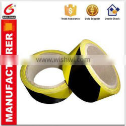 Offer Printing Black And Yellow Warning Tape In Adhesive Tape