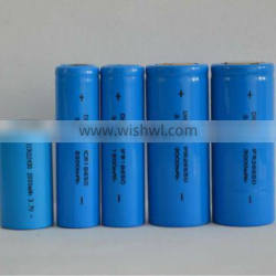 Cylindrical 3.2v 18650 26650 3000mah LiFePo4 lithium ion batteries for solar lamps, solar street lights