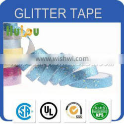 High quality good adhesion glitter paper tape