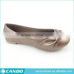 Ladies Comfortable High Quality Fashion Dress Golden Shoes