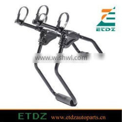 2 Bike Trunk Mount Rack Bicycle Carrier Car Attachment 2 Bikes