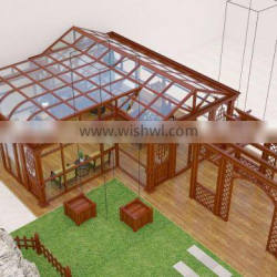 High quality with different surfacetreatment 6000 series aluminum extrusion profile sun room/green house /glass sun rooms