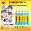 Extended Silicone Sealant/Aluminum Hydroxide Marble Glue/Rubber Mix Silicone Hose Manufacturers Rtv Silicone Sealant