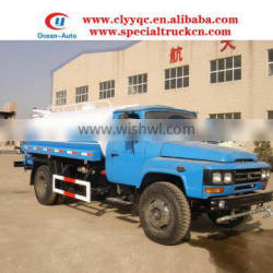 8cbm mini tractor Dongfeng water tanker for sale