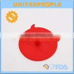 2015 New Products New Design Silicone Cup Cover