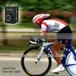Full HD 1080P@30FPS Waterproof Action Camera DV240 With 2.4inch Touch Screen