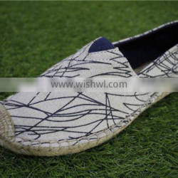 The Hemp rope bottom stock canvas shoes