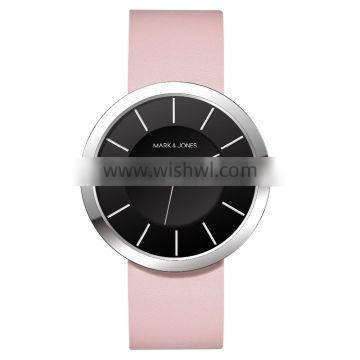 best luxury brands watch with black leather band for men on sale
