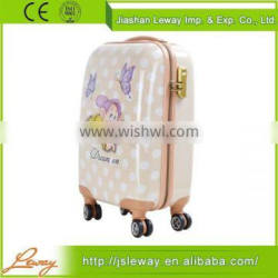 Hot-Selling high quality low price abs pc luggage