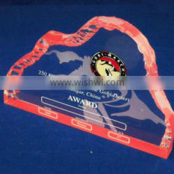 special design for the acrylic award trophy