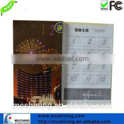 advertising led calendar for business company