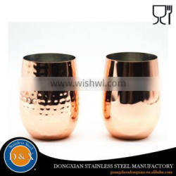 Promotional copper 500ml stainless steel martini cup Supplier's Choice