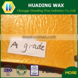 100% organic pure yellow beeswax refined for sale