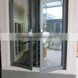 high quality Aluminum Tempered Glass Windows for House, Office, Store