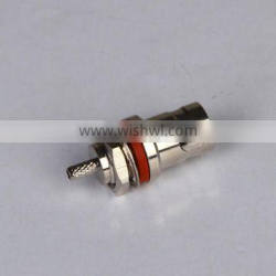 Waterproof female BNC connectors for RG174 RG316 flexible cable