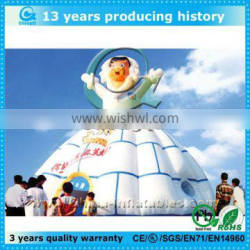 Outdoor cheap inflatable lawn tent for kids