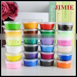 2015 hot sale non-toxic kids diy polymer clay modeling caly