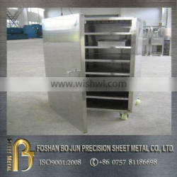 custom certificated metal trolley cabinet with wheels manufacture from china supplier