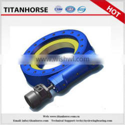Titanhorse 5 inch zero backlash gear single axis sleiwng drive for automatic robot arm