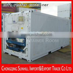 Best Quality of New CIMC 20ft Reefer Container for sale