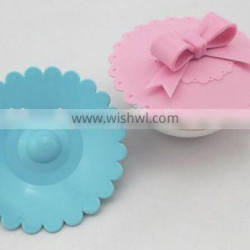HOT silicone pot cover lid silicone lids for cups custom ceramic coffee mug with silicone lid