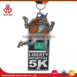 Wholesales Relay Race Medal with Custom Logo