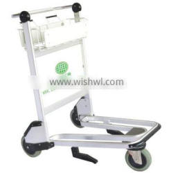 Durable Aluminum Airport Luggage trolley carts with brake