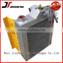 China Manufacture Air Cooled Plate and Bar brazed aluminum plate fin heat exchanger with lager heat transfer surface