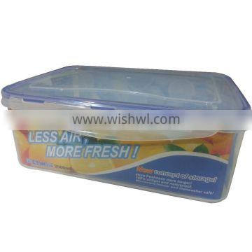 2500ml rectangle airtight food container GL9322