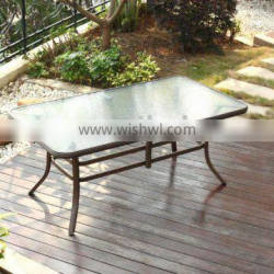 Relaxation Outdoor Furniture Aluminum Coffee Table