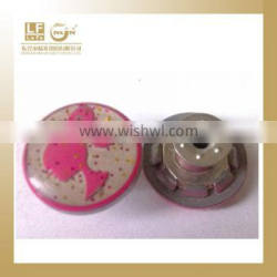 Chinese button factory alloy jean button