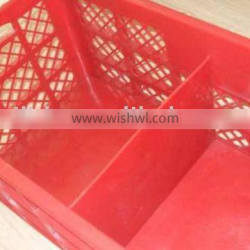 Good quality stackable Eggs plastic crate E-004