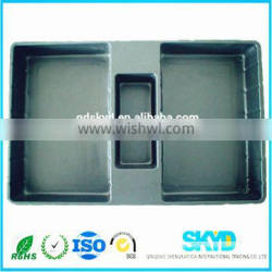 Professional plastic plastic packaging tray for electronic components