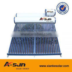 New Product Double Tank Pre-heated pressurized solar water heater with assistant tank