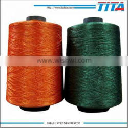 Polyester dope dyed filament Embroidery Thread for schiffli embroidery machine