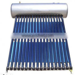 compact sus304 stainless steel pressurized heat pipe solar water heater geyser