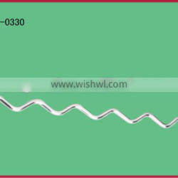 Display hook/clothes welded wire hook for mesh panel
