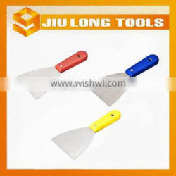 plastic handle and carbon steel scraper,putty knife