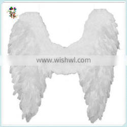Adult Party Costume Big White Feather Angel Wings HPC-0871