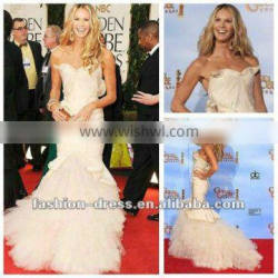 Sweetheart Memaid Sexy Celebrity Red Carpet Dress