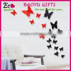 Butterfly removable home wallpaper Art DIY kids room decoration 3d wall stickers