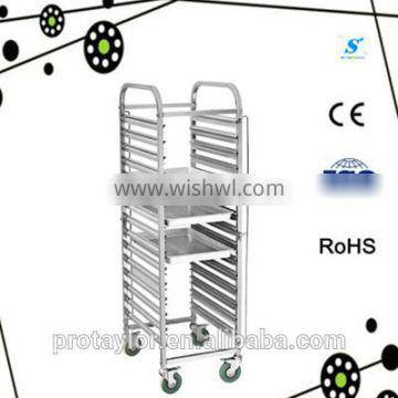 With CE certification Stainless Steel Cake Cart(TR-15D)
