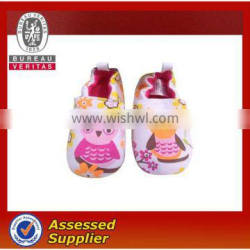 Fashionable Baby's Shoes with Cotton Outsole and Fabric Upper
