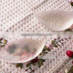 silicone bra insert pads,silicone chest insert,transparent