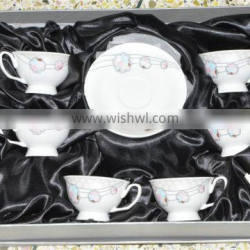 elegant beautiful european style cup and saucer