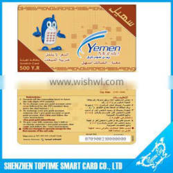 High quality paper lottery scratch card printing
