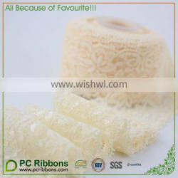 Berwick Offray Classical White Lace Ribbon